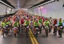 Todo listo para la 8va. edición del cruce del túnel subfluvial en bicicleta