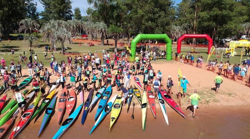 Todo listo para el Desafío del Lago en Playa Las Palmeras