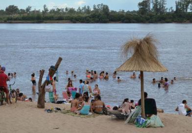 Recomendaciones para bañistas y embarcaciones ante la bajante del río Uruguay