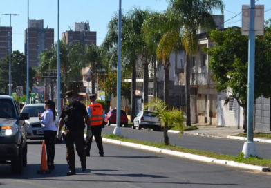 Coronavirus: Se intensifican los operativos de control en la vía pública