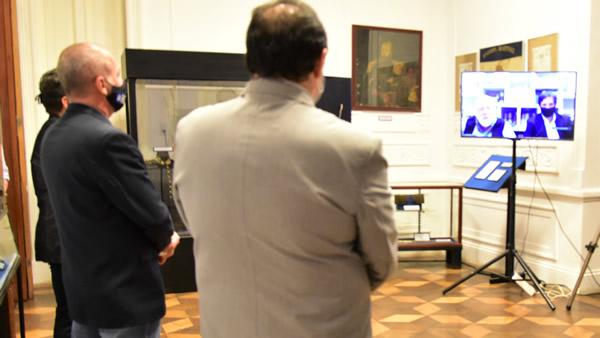 Por Concordia, el presidente del Concejo Deliberante Dr. Cedro y el secretario de Coordinación de Gestión Fernando Barboza participaron en representación del intendente Alfredo Francolini.