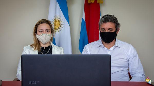 Por el Departamento de Federación participaron el presidente municipal, Ricardo Bravo, y la Directora Municipal de Cultura, Silvana Monzón.